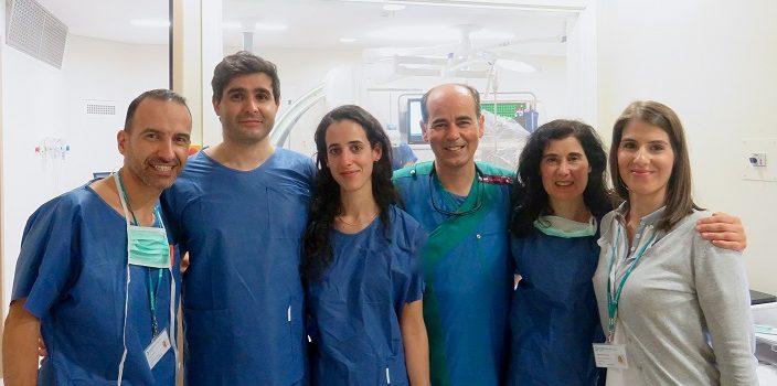 Hospital da Luz Coimbra realiza intervenção guiada por ecografia intracardíaca