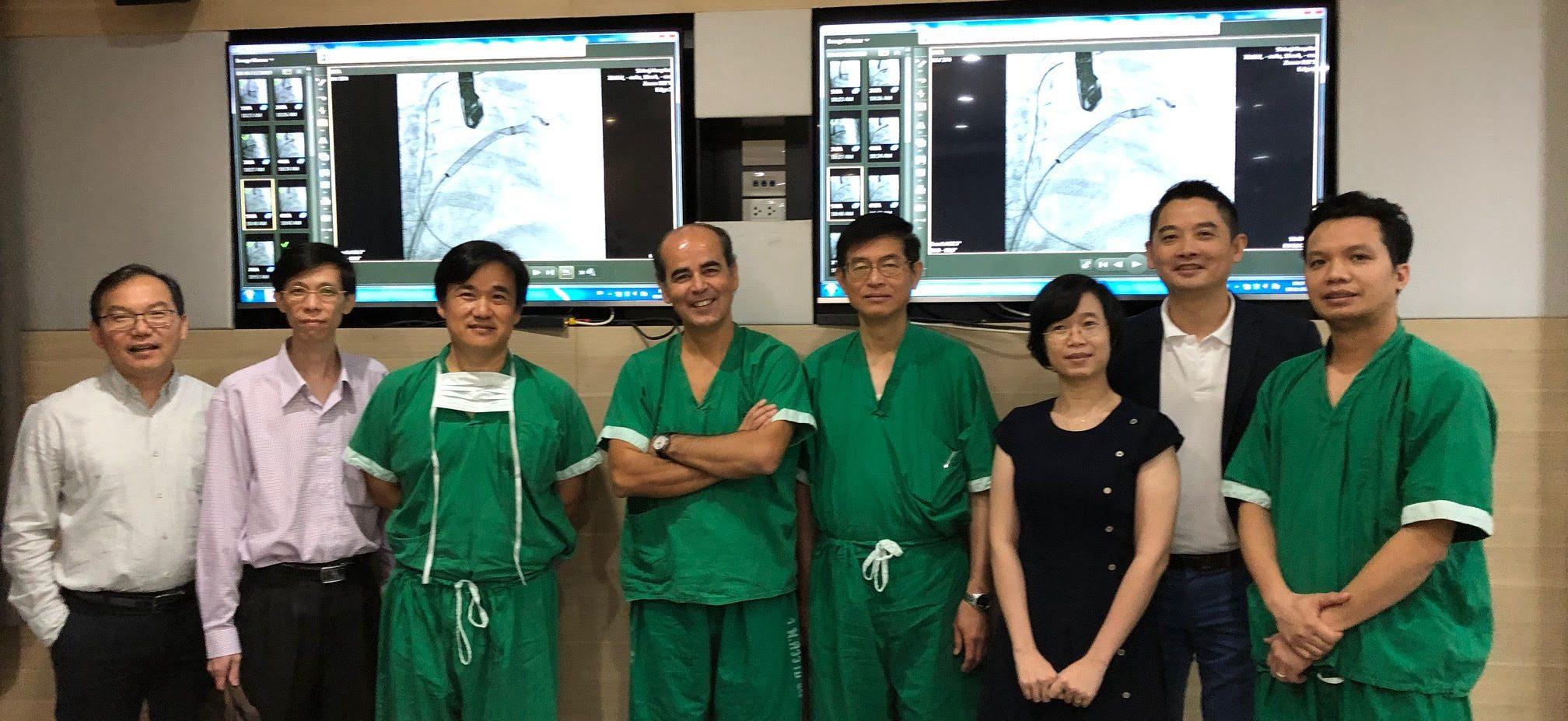 Cardiologista do Hospital da Luz aplicou técnica diferenciada